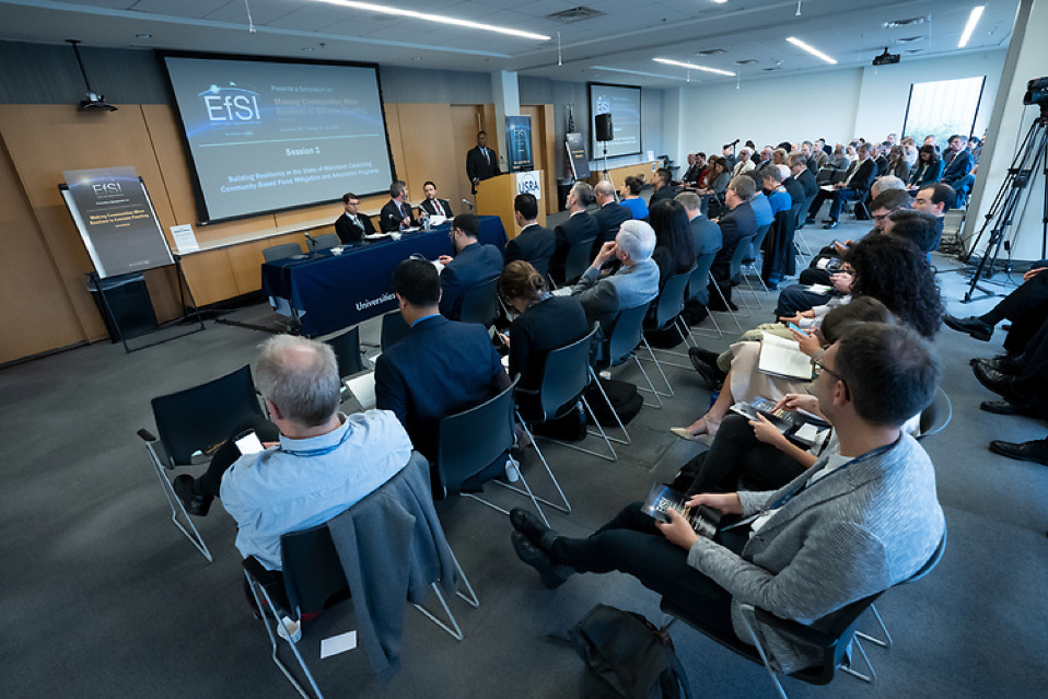 EfSI 2019 Symposium session attendees