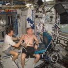 medical testing in space