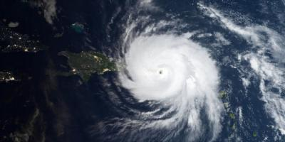 Hurricane Maria visual